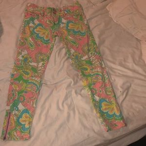 Lilly Pulitzer Worth Skinny Mini Zip
